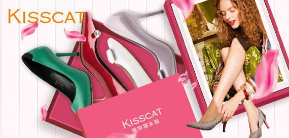 KISSCAT接吻猫女鞋特卖会